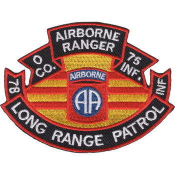 75th Infantry Regiment O Company Long Range Patrol - Airborne Ranger