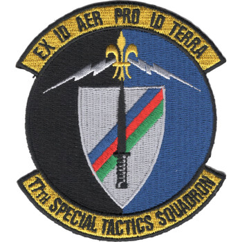 17th STS Special Tactics Squadron Patch