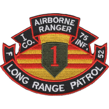 75th Infantry Regiment I Company Long Range Patrol - Airborne Ranger