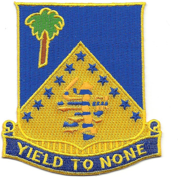 125th Infantry Regiment Patch