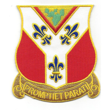 122nd Field Artillery Regiment Patch