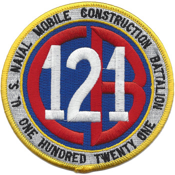 121st Naval Mobile Construction Battalion Patch