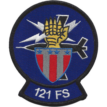 121st Fighter Squadron Patch