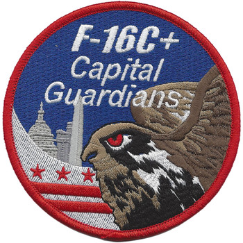 121st Fighter Squadron F-16C+ Patch