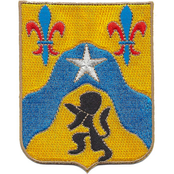 121st Cavalry Regiment Patch