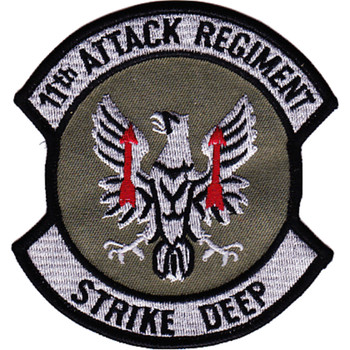 11th Aviation Attack Regiment Patch OD