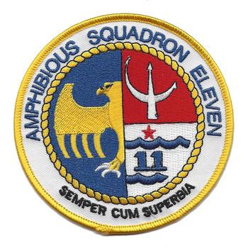 11th Amphibious Squadron Patch
