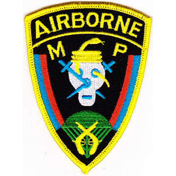 11Th Airborne Military Police Company Patch
