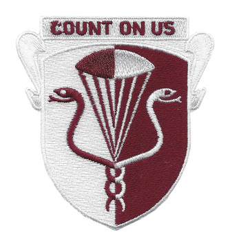 11Th Airborne Medical Battalion Patch