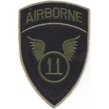11th Airborne Infantry Division Patch Airborne - Version A