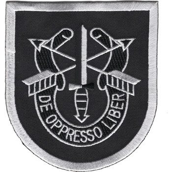 5th Special Forces Group Flash 1962-1964 With Crest Patch