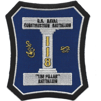118th Naval Construction Battalion WWII Patch