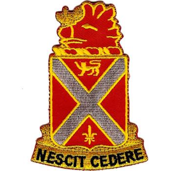 118th Field Artillery Regiment Patch