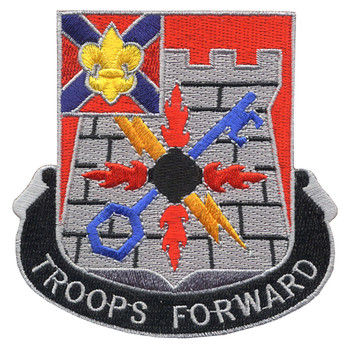 116th Infantry Brigade Special Troops Battalion Patch