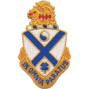 114th Infantry Regiment Patch