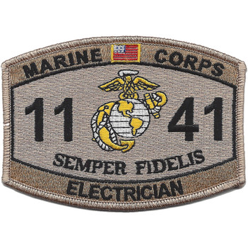 1141 Electrician MOS Desert Patch