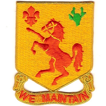 113th Cavalry Regimen Patch