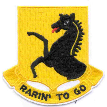112Th Cav Armored Regiment Patch