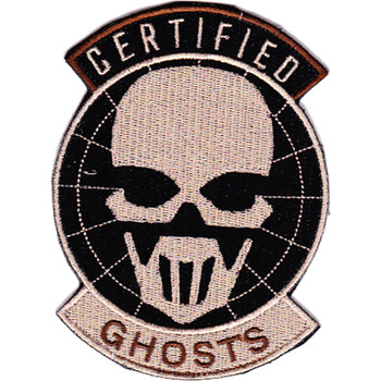 5th Special Forces Group Certified Ghost Patch Hook And Loop