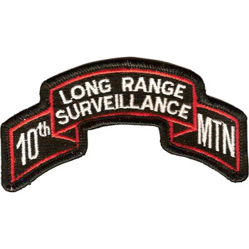 10th LRS Mountain Infantry Division Patch