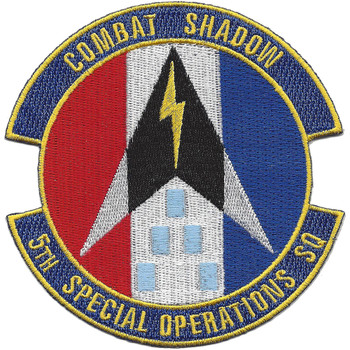 5th SOS Special Operations Squadron Patch
