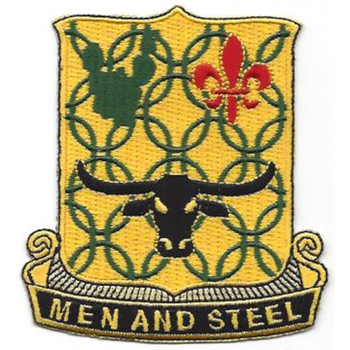 149th Armor Regiment Patch