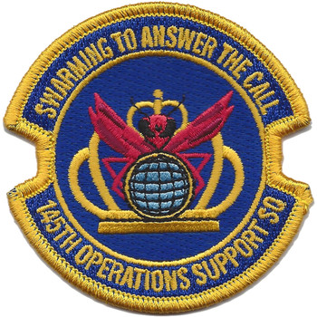 145th Operations Support Squadron Patch