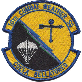 10th Combat Weather Squadron Patch