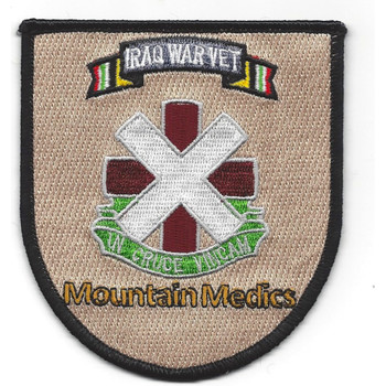 10TH Combat Support Medical Hospital Iraq Patch