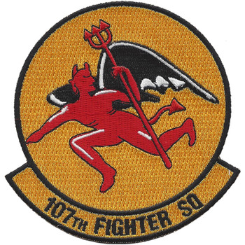 107th Fighter Squadron A-10 Patch