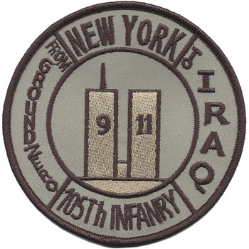 105th Infantry Regiment Patch