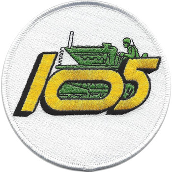 105th Construction Battalion Patch