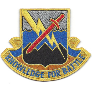 102nd Military Intelligence Battalion Patch