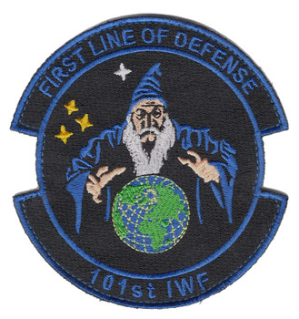 101st Information Warfare Flight Patch Hook And Loop
