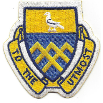 101st Cavalry Regiment Patch - To The Utmost