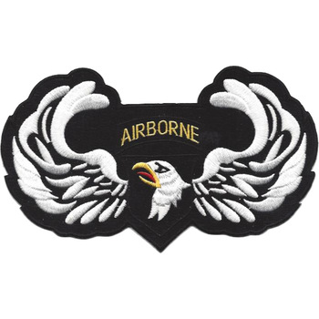 101st Airborne Division Patch Screaming Eagles Wings