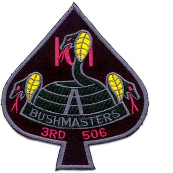 101st Airborne Division 506th Airborne Infantry Regiment 3rd Battalion Patch