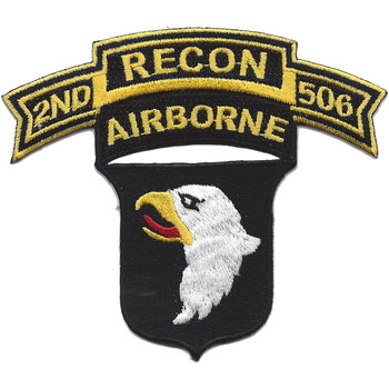 101st Airborne Division 506th Airborne Infantry Regiment 2nd Battalion Recon Patch