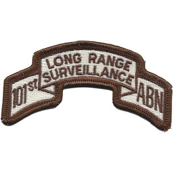 101st Abn Inf. Desert Long Range Patch