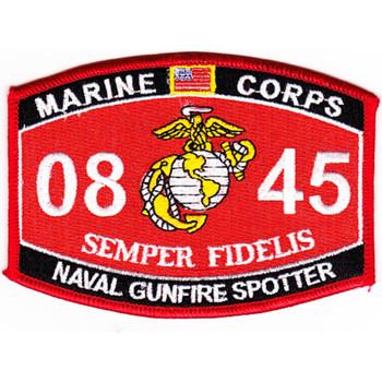 0845 Naval Gunfire Spotter MOS Patch