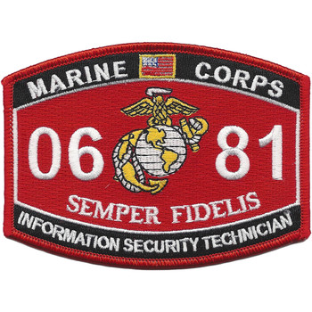 0681 MOS Information Security Technician Patch