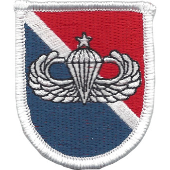 11th Special Forces Group Flash With Senior Jump Wings Patch