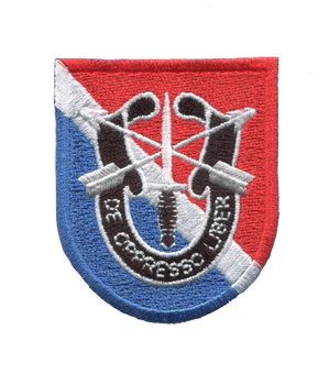 11th Special Forces Group Flash Patch With Crest