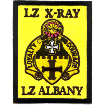 5th Cavalry Regiment Patch Lz-X-Ray Lz-Albany Vietnam