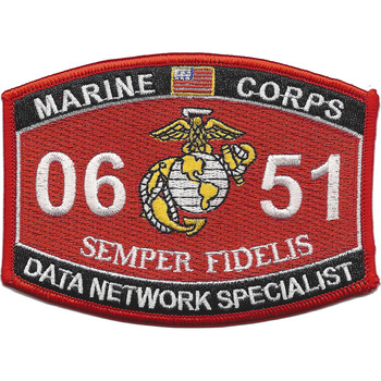 0651 Data Network Specialist MOS Patch