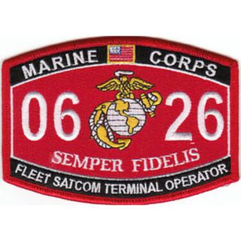 0626 Fleet Satcom Terminal Operator MOS Patch
