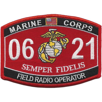 0621 Field Radio Operator MOS Patch