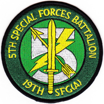 5th Battalion 19th Special Forces Group Airborne Patch
