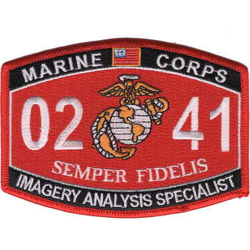 0241 Imagery Analysis Specialist MOS Patch