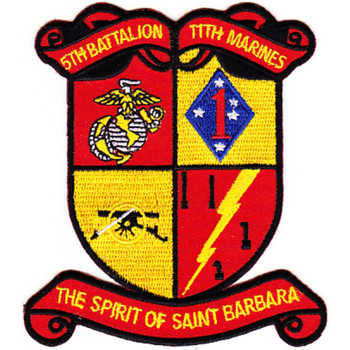5th Battalion 11th Marines Patch